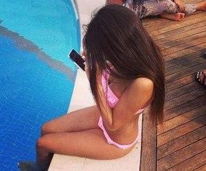 girl and bikini image