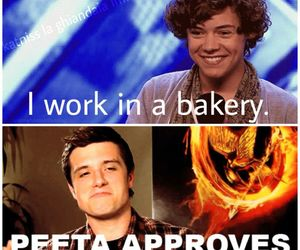 bakery, boy, and hunger games image