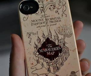 harry potter, iphone, and map image