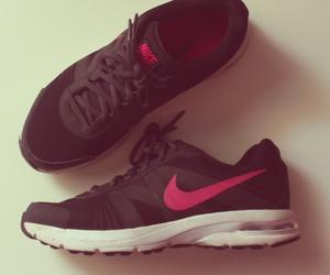 nike and shoe image
