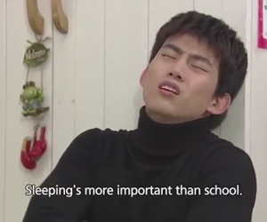 2PM, school, and taecyeon image