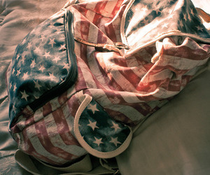bag, usa, and cool image