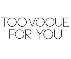vogue, quotes, and text image
