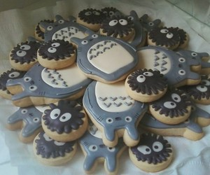 totoro, food, and Cookies image