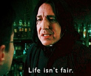 harry potter, life, and snape image