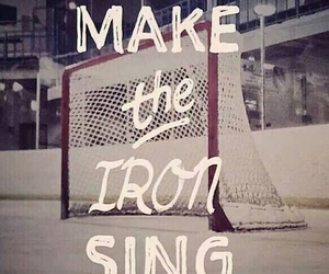 hockey, mylife, and quote image