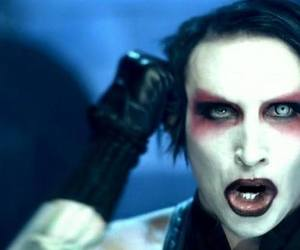 gothic, Marilyn Manson, and metal image