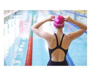 girl, swim, and swimmer image