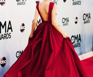 Taylor Swift, red, and dress image