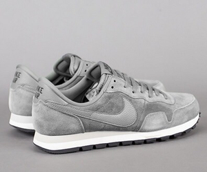 nike, grey, and shoes image