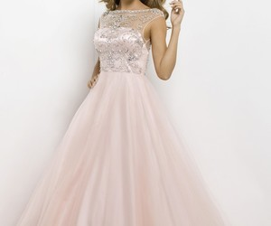 fashion, prom dress, and evening dress image