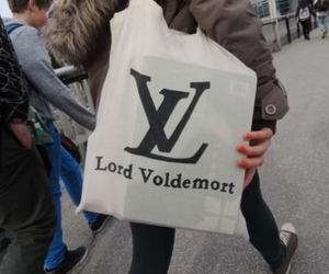 bag, LV, and lord voldemort image