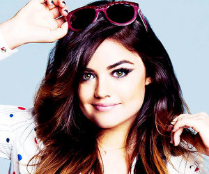 lucy hale, aria, and pretty little liars image