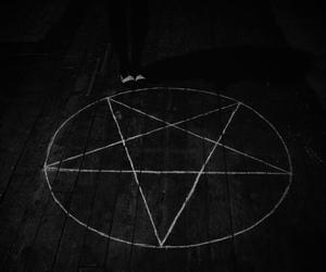 pentagram, satan, and star image