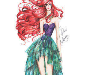 ariel, drawings, and art image