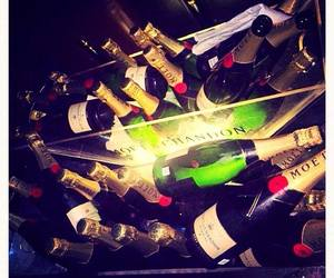 party, moet, and love image