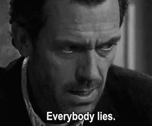 lies, dr house, and house image