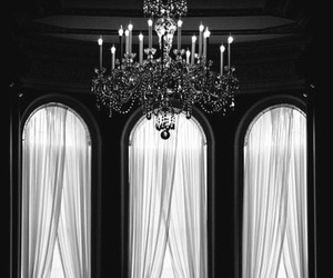 chandelier, interior, and room image