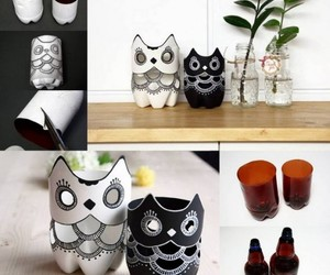 diy, owl, and bottle image