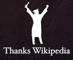 wikipedia, thanks, and school image