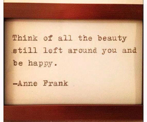 anne frank, wise words, and world war 2 image