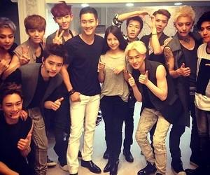 exo, boa, and siwon image