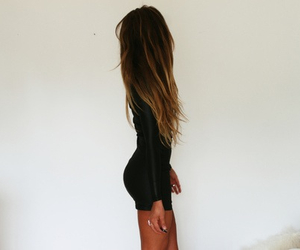ass, beauty, and long hair image