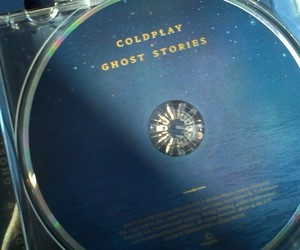 album, coldplay, and ghost stories image