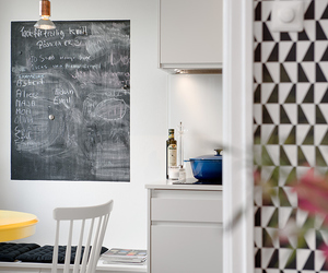 living space, cute details, and apartment. image