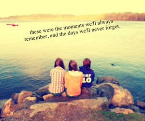 memories, moment, and friends image