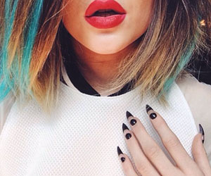 kylie jenner, hair, and nails image