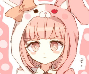 2, bunny, and heart image