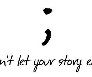 quote, story, and end image
