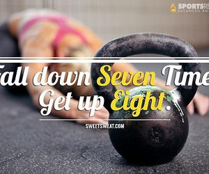 fitness, life, and work hard image