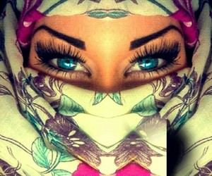 eyes, beauty, and girl image