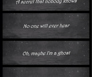 coldplay, fear, and ghost image