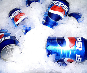 cold, drink, and Pepsi image