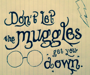 harry potter and muggles image