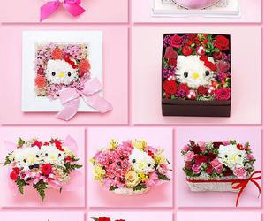 flowers and hello kitty image