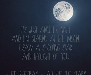 moon, stars, and the fault in our stars image