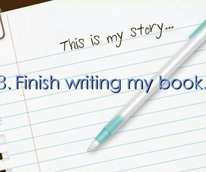 wish, bucket list, and write a book image