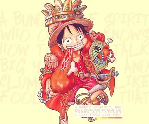 boy, one piece, and pirate image