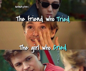 isaac, tfios, and book image