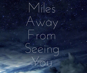 miss you, song, and stars image