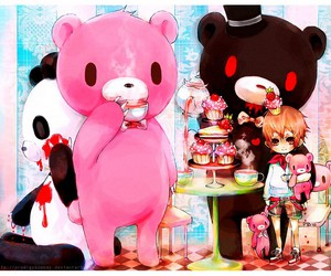 anime and gloomy bear image