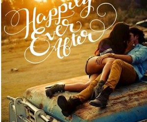 happily ever after, truck, and country love image