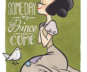 disney, snow white, and prince image