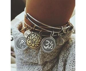bracelet and hippie image