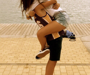 amazing, lovers, and cute couple image
