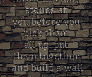 hurt, stones, and quotes image
